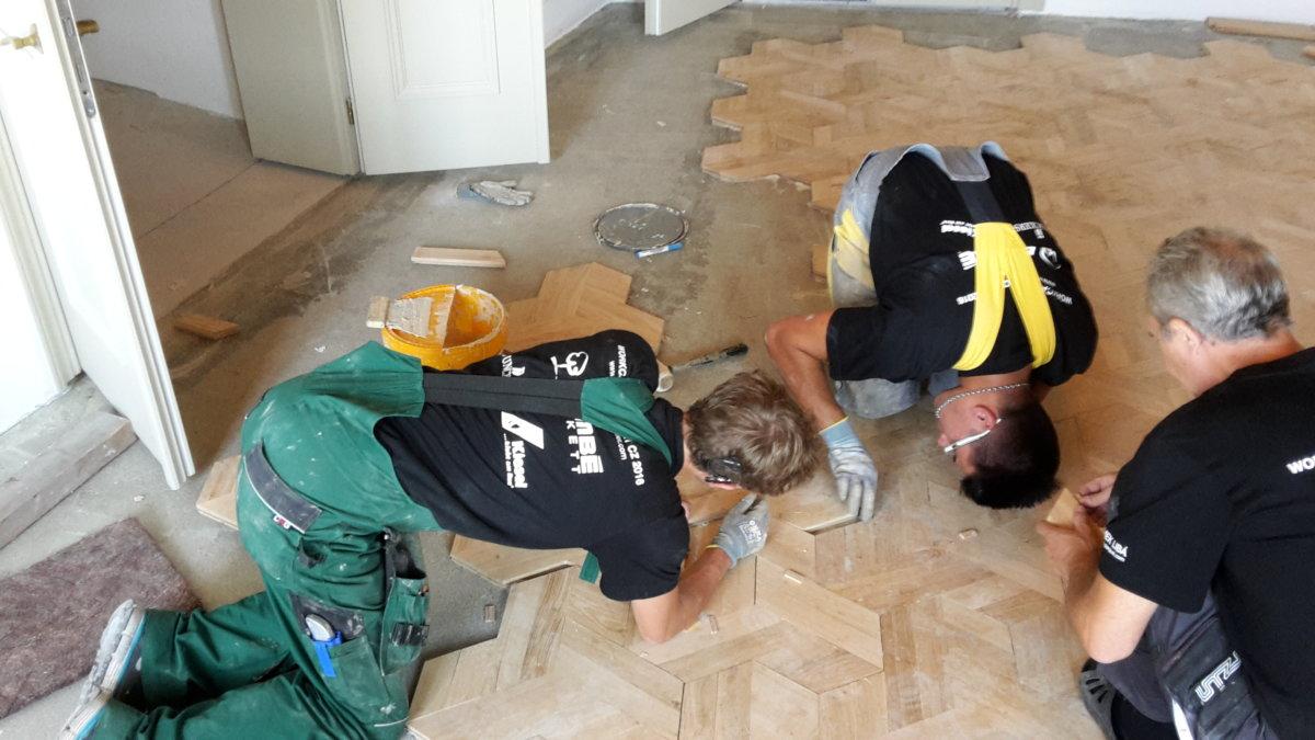 Skládáme podlahy
