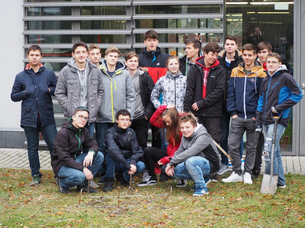 Skupinová fotka z projektu